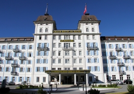 Das Kempinski Grand Hotel des Bains in St.Moritz-Bad